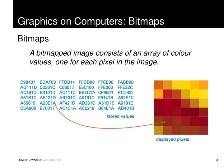 Graphics on Computers: Bitmaps