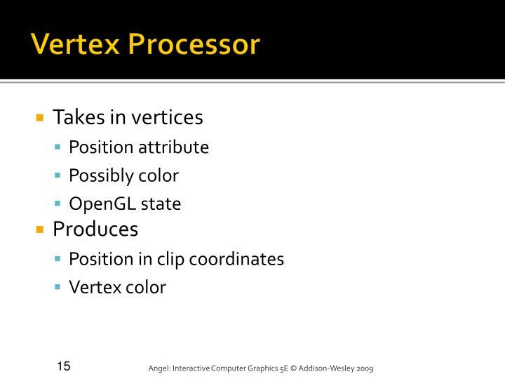 Vertex Processor