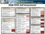 pfm in armenia 2008 pefa self assessment