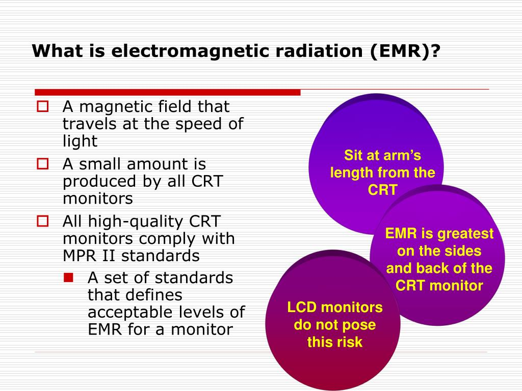 What is electromagnetic radiation (EMR)?