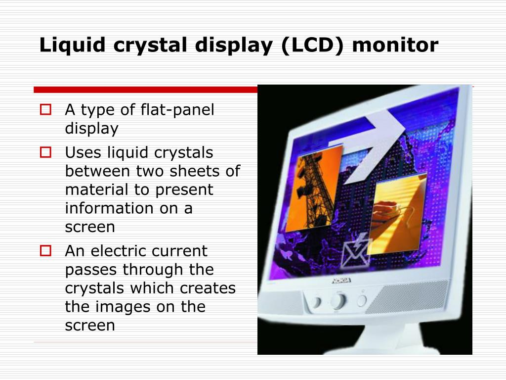 Liquid crystal display (LCD) monitor