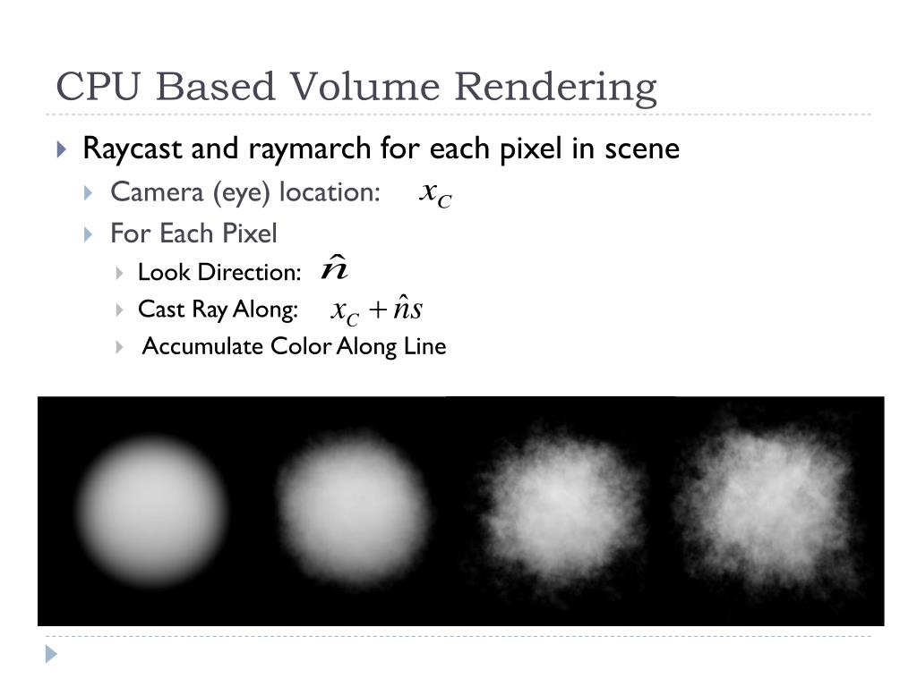 CPU Based Volume Rendering