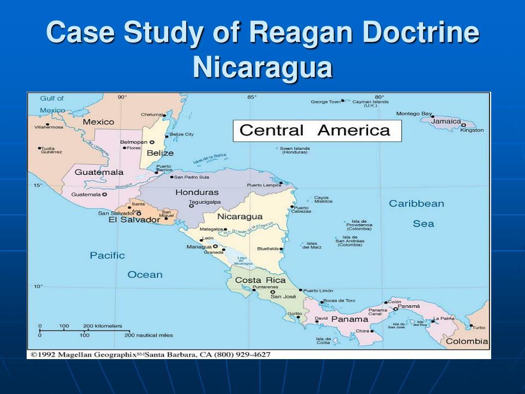 Case Study of Reagan Doctrine