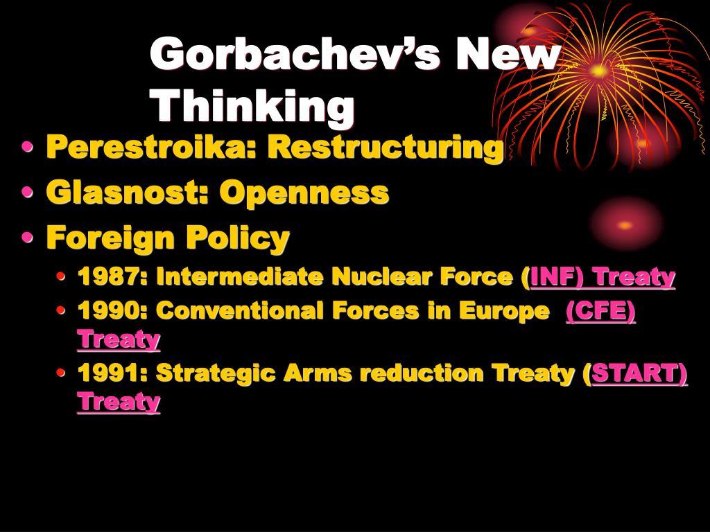 Gorbachev's New Thinking