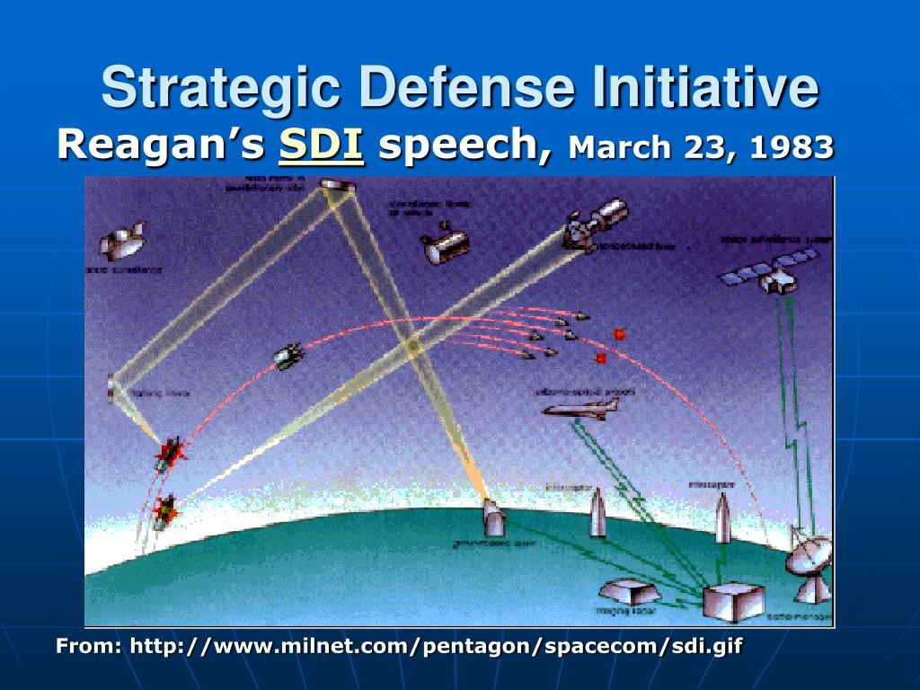 reagan administrations strategic defense initiative heightened Join us as we commemorate the 33rd anniversary of president reagan's historic strategic defense initiative speech.