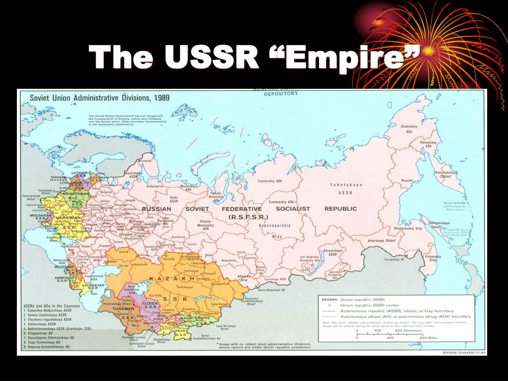 """The USSR """"Empire"""""""