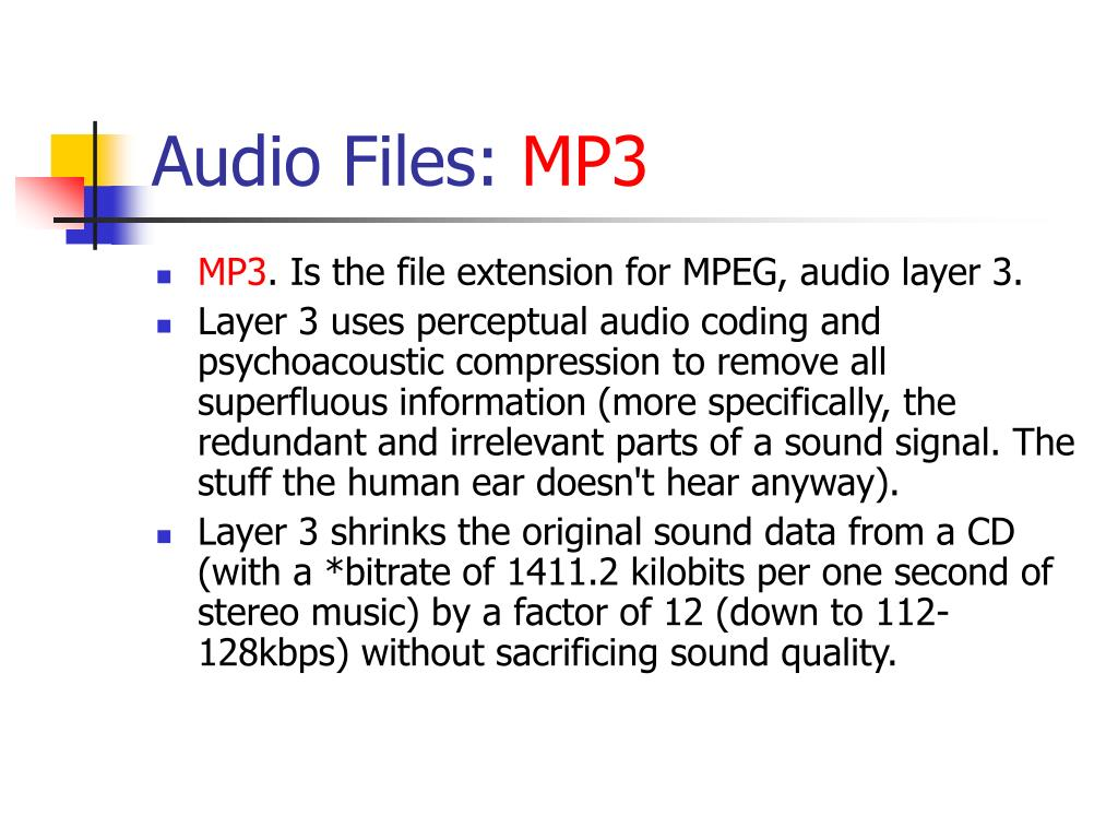 Audio Files: