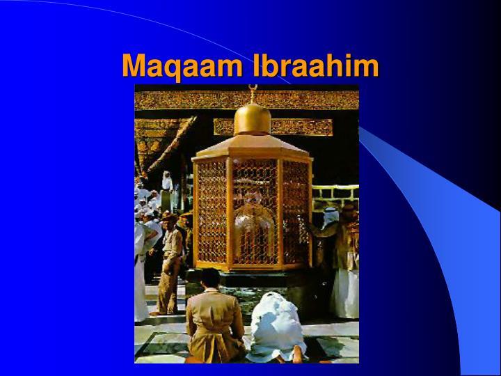 Maqaam Ibraahim
