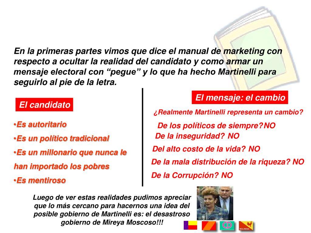 Luego de ver estas realidades pudimos apreciar que lo más cercano para hacernos una idea del posible gobierno de Martinelli es: el desastroso gobierno de Mireya Moscoso!!!