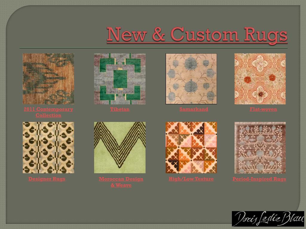 New & Custom Rugs