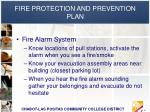 fire protection and prevention plan6