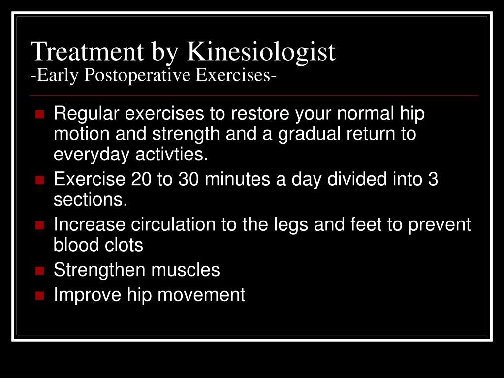 Treatment by Kinesiologist