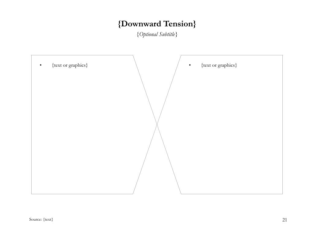 {Downward Tension}