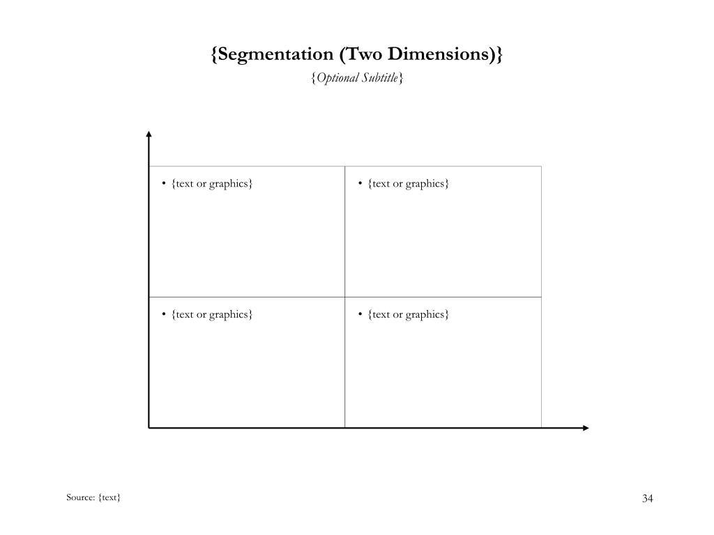 {Segmentation (Two Dimensions)}