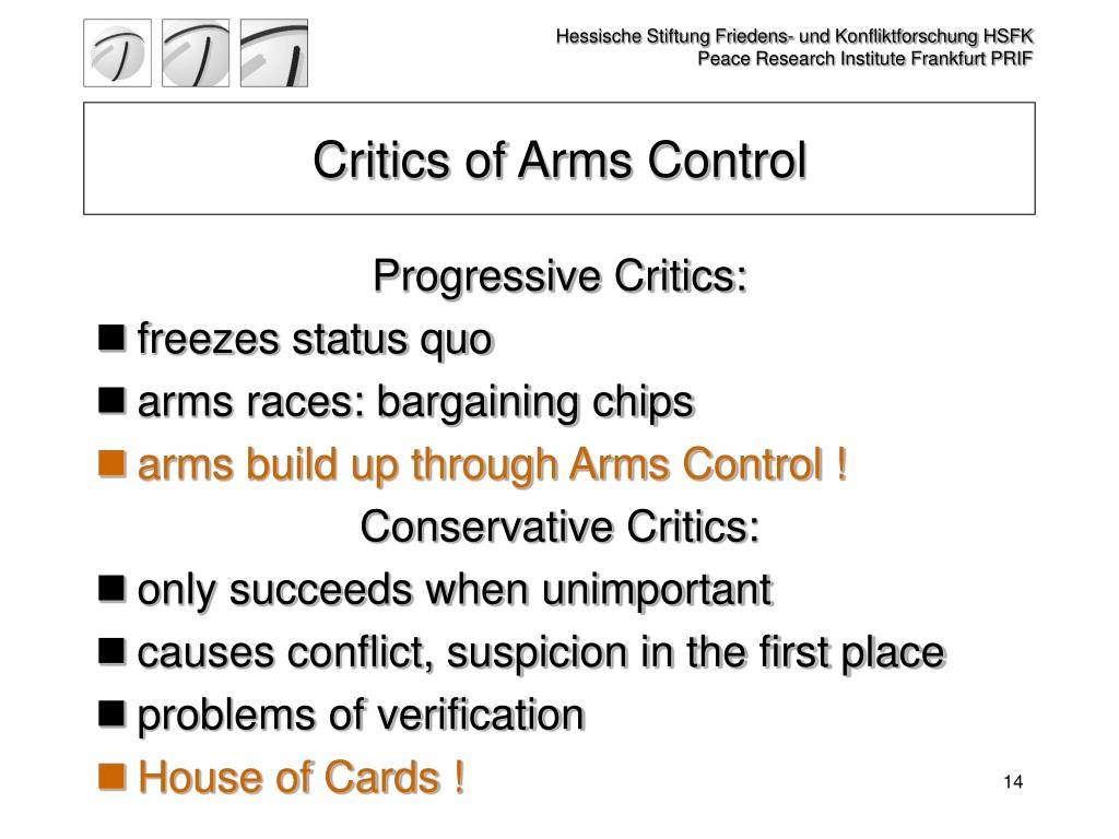 Critics of Arms Control