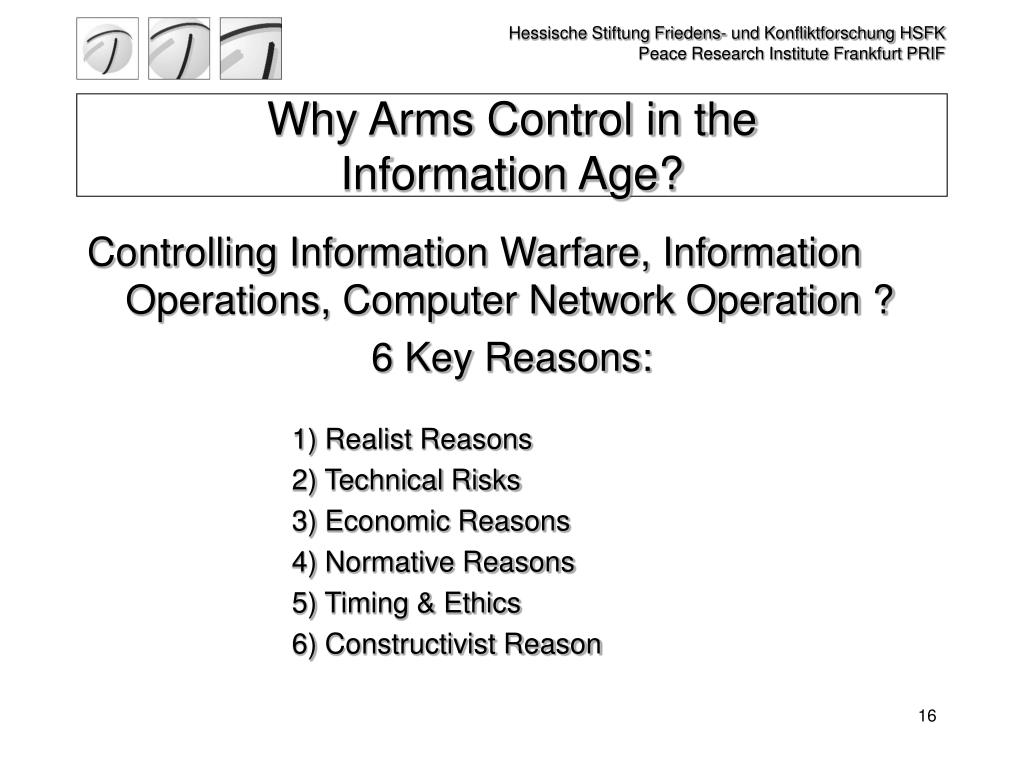Why Arms Control in the