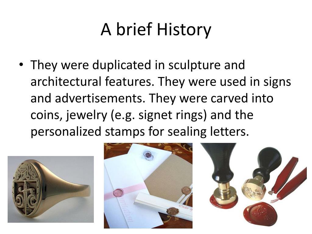 A brief History