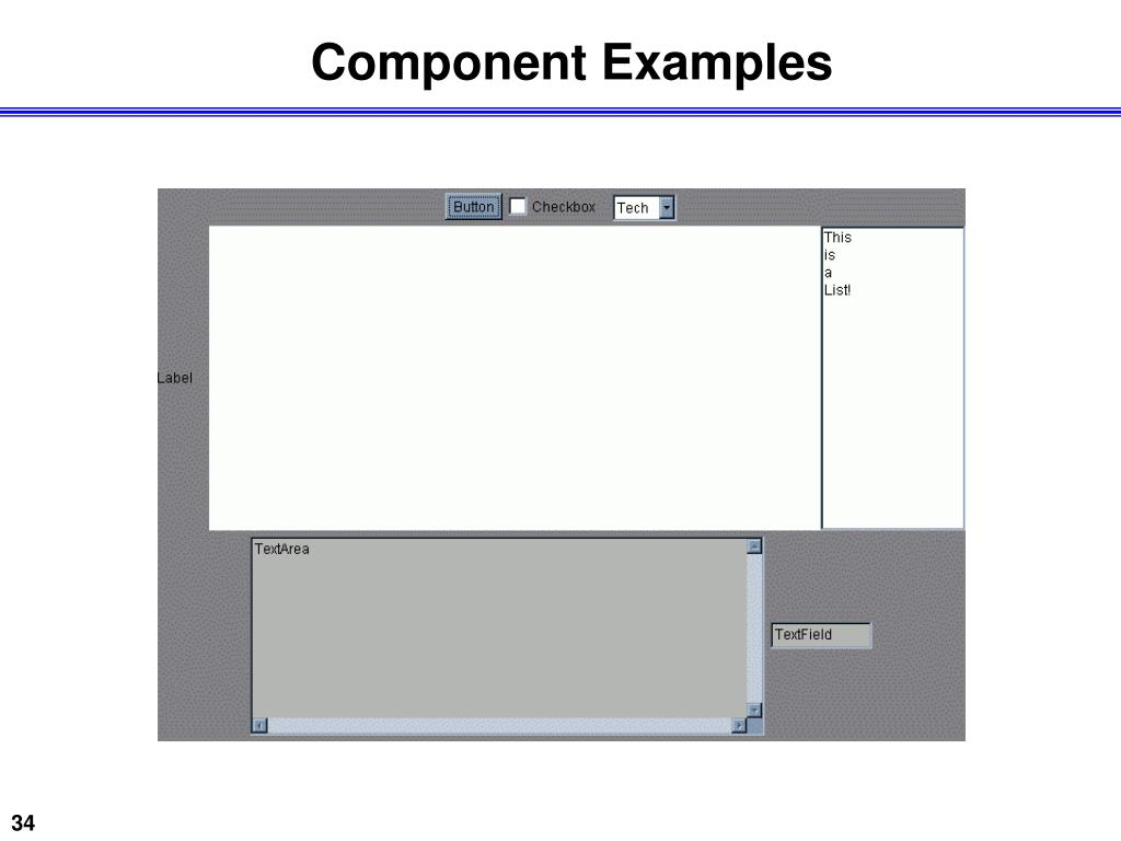 Component Examples