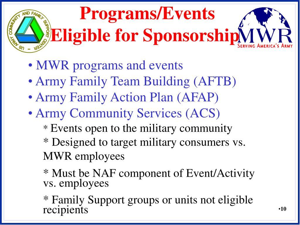 Programs/Events