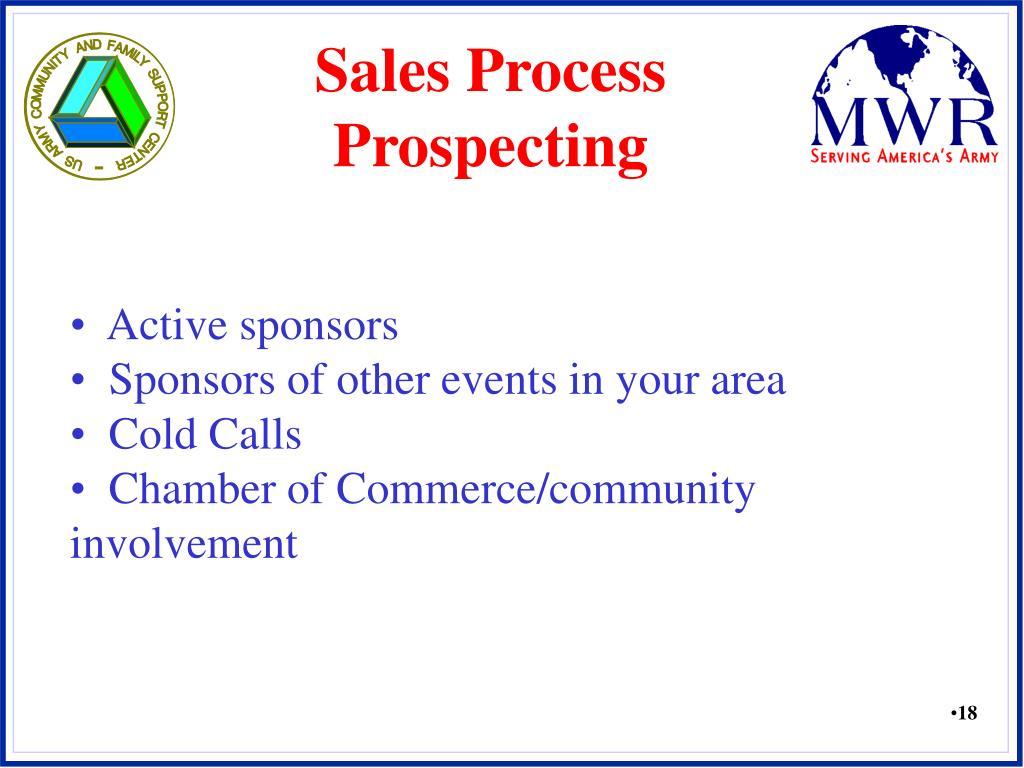 Sales Process Prospecting