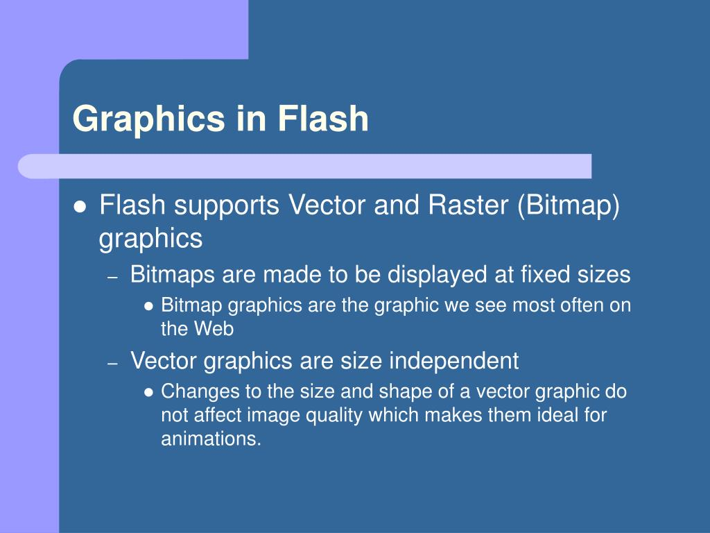 Graphics in Flash