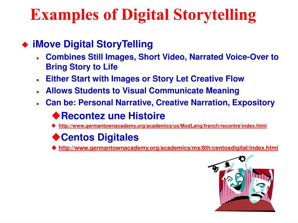 Examples of Digital Storytelling