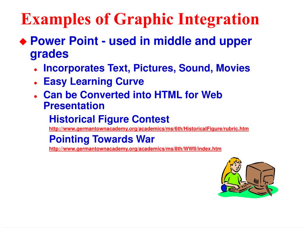 Examples of Graphic Integration