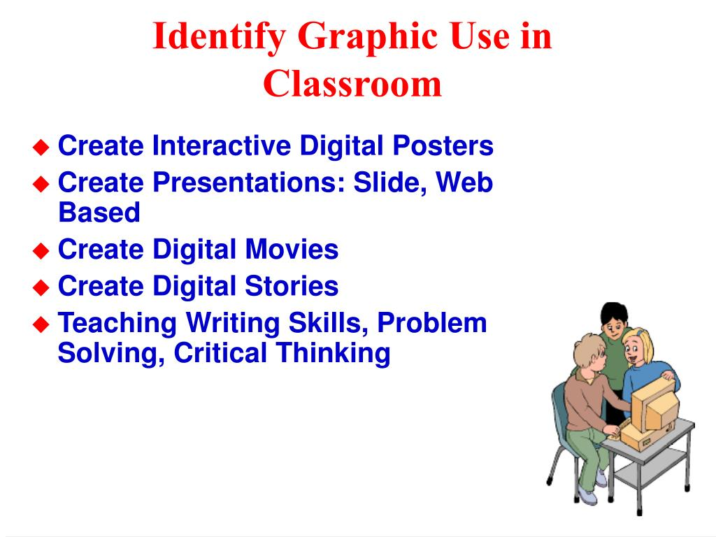 Identify Graphic Use in Classroom