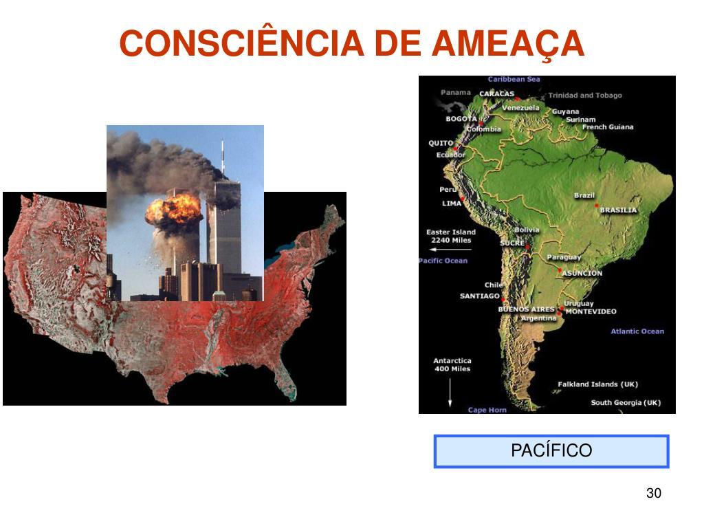 CONSCIÊNCIA DE AMEAÇA