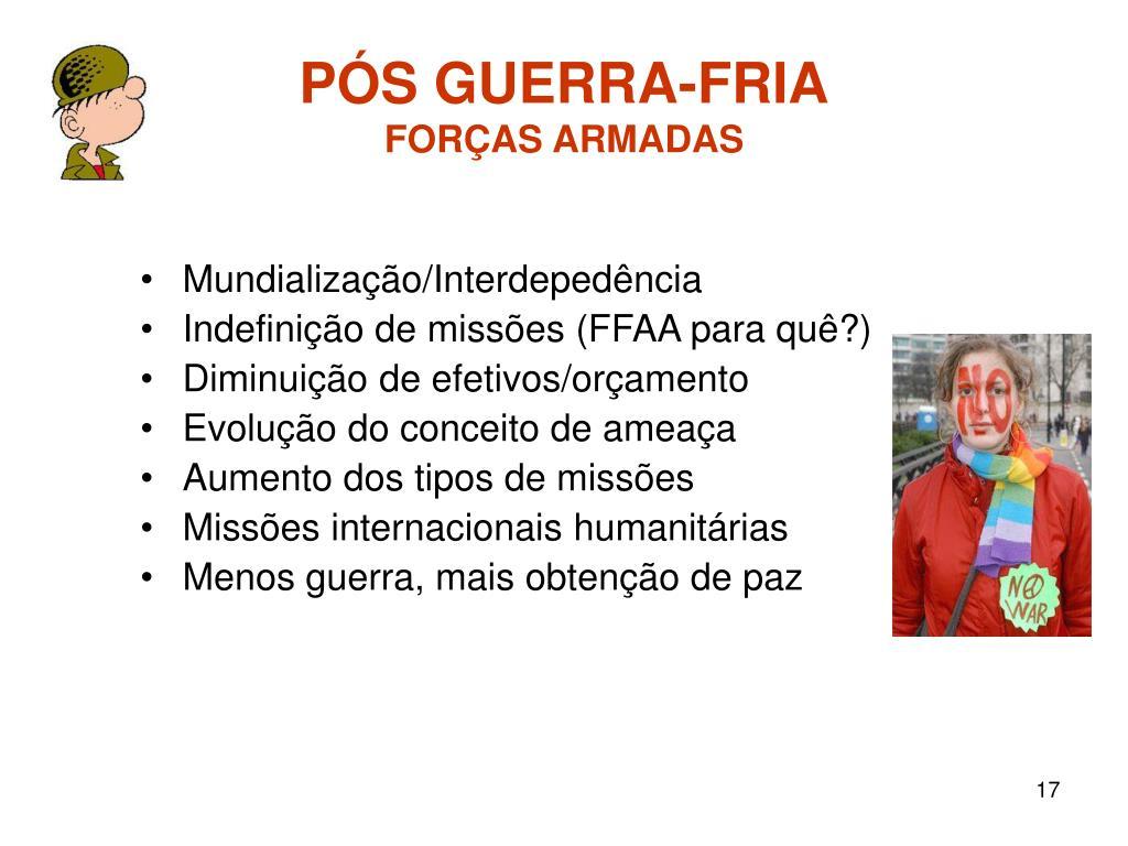 PÓS GUERRA-FRIA