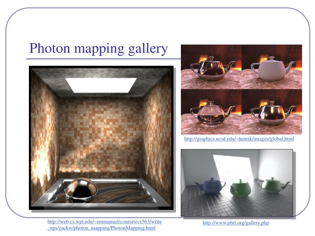 Photon mapping gallery