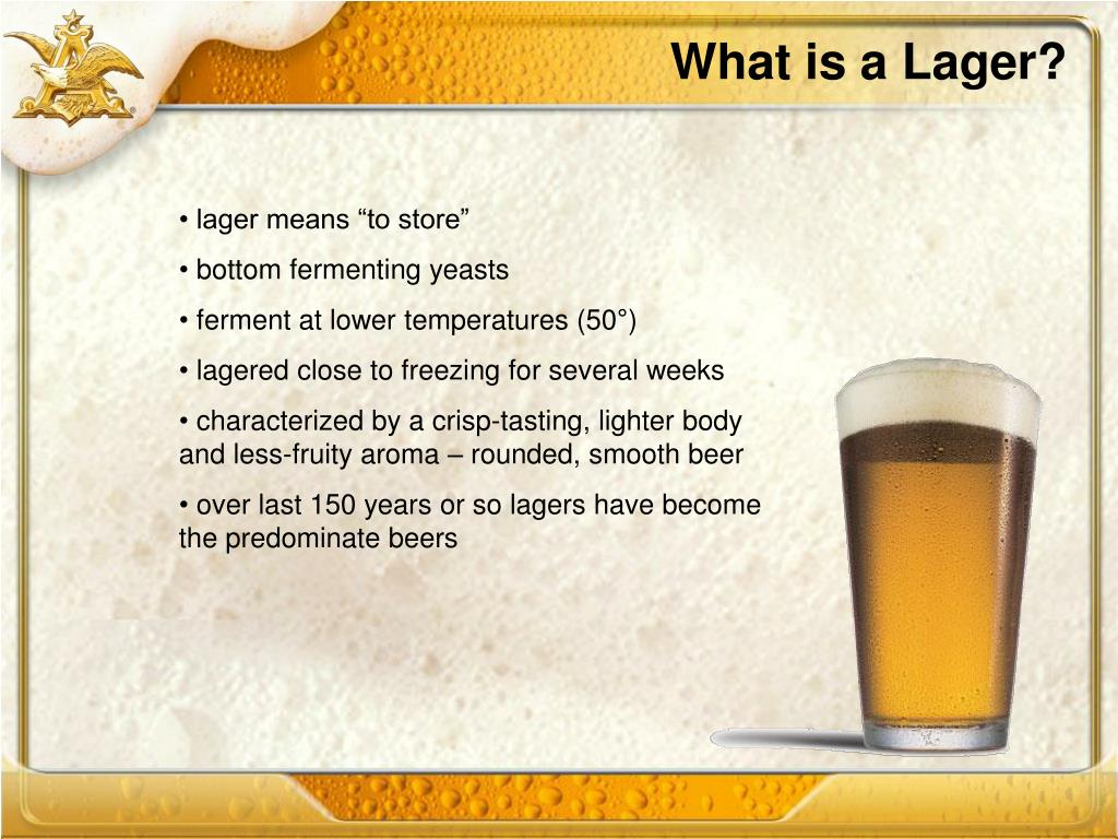 What is a Lager?