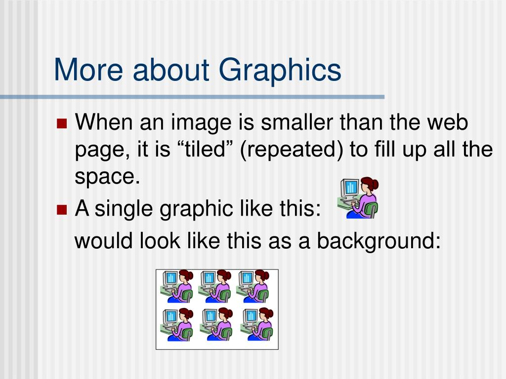 More about Graphics