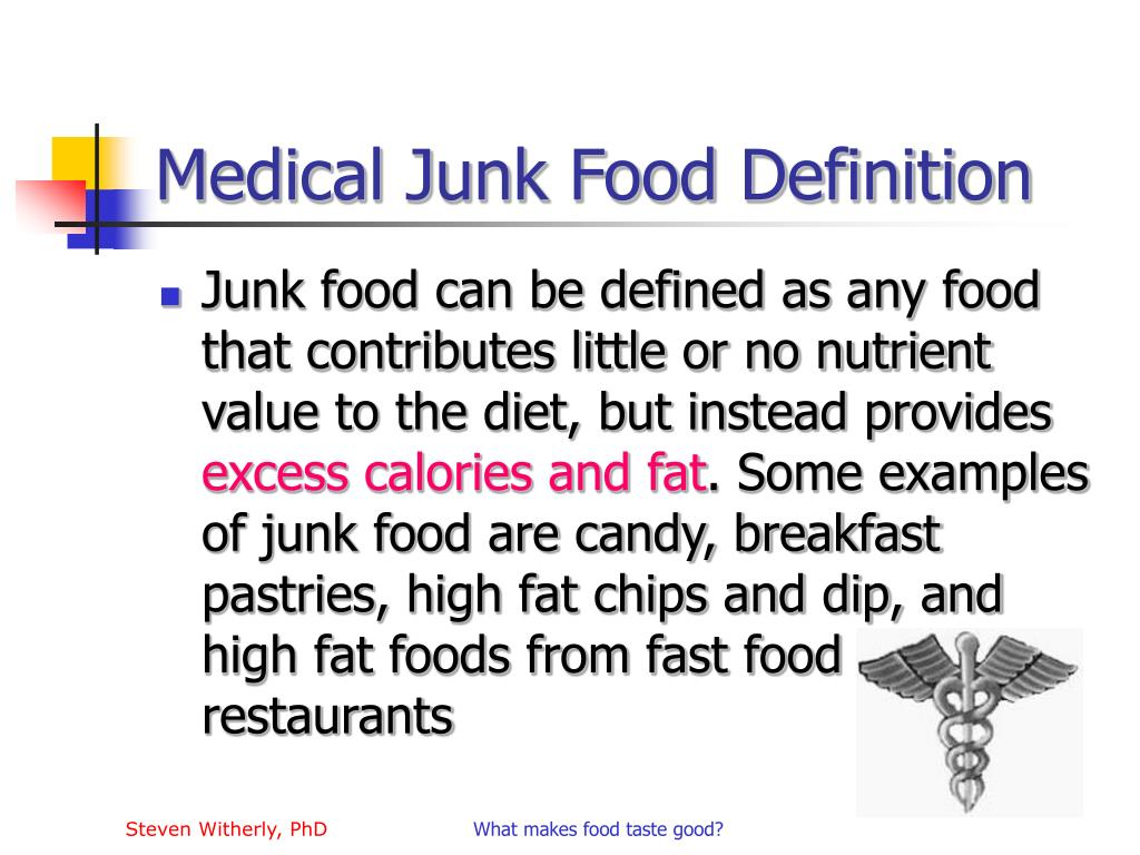 definition of junk food pdf