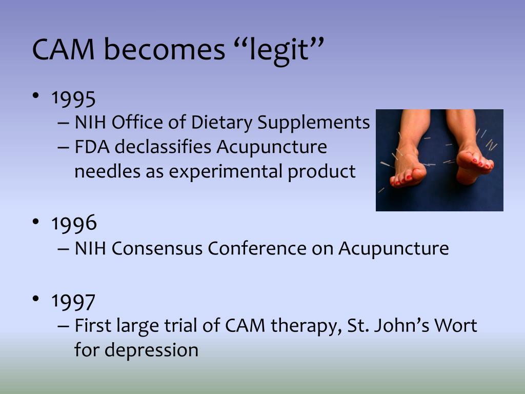 """CAM becomes """"legit"""""""