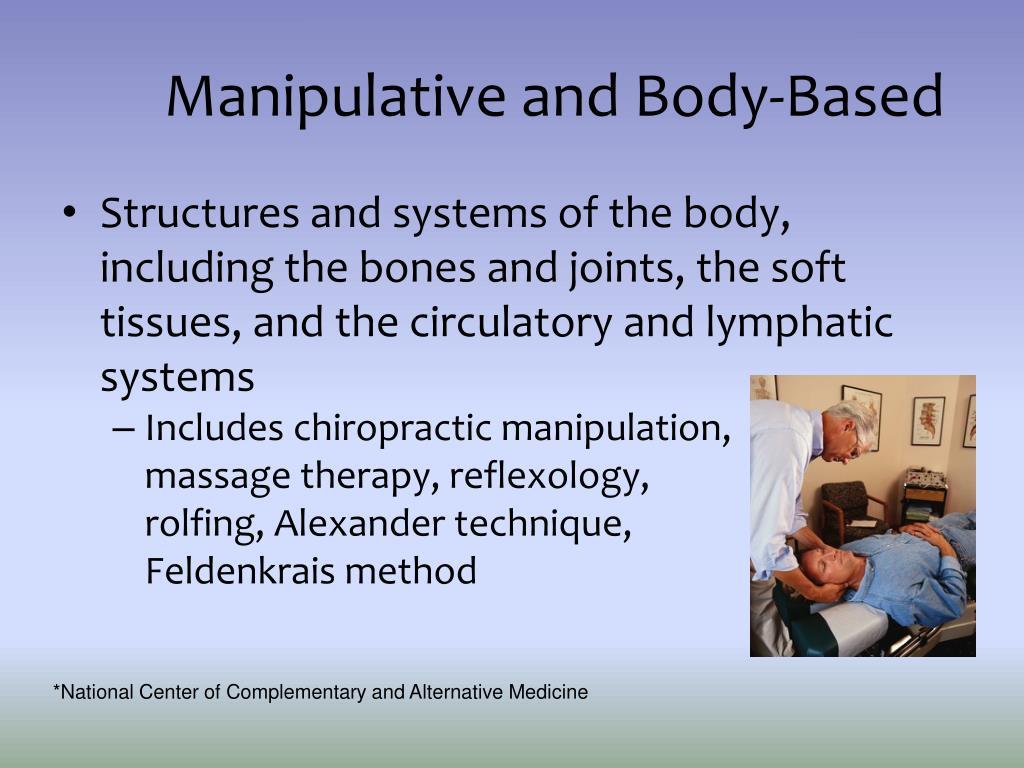 Manipulative and Body-Based
