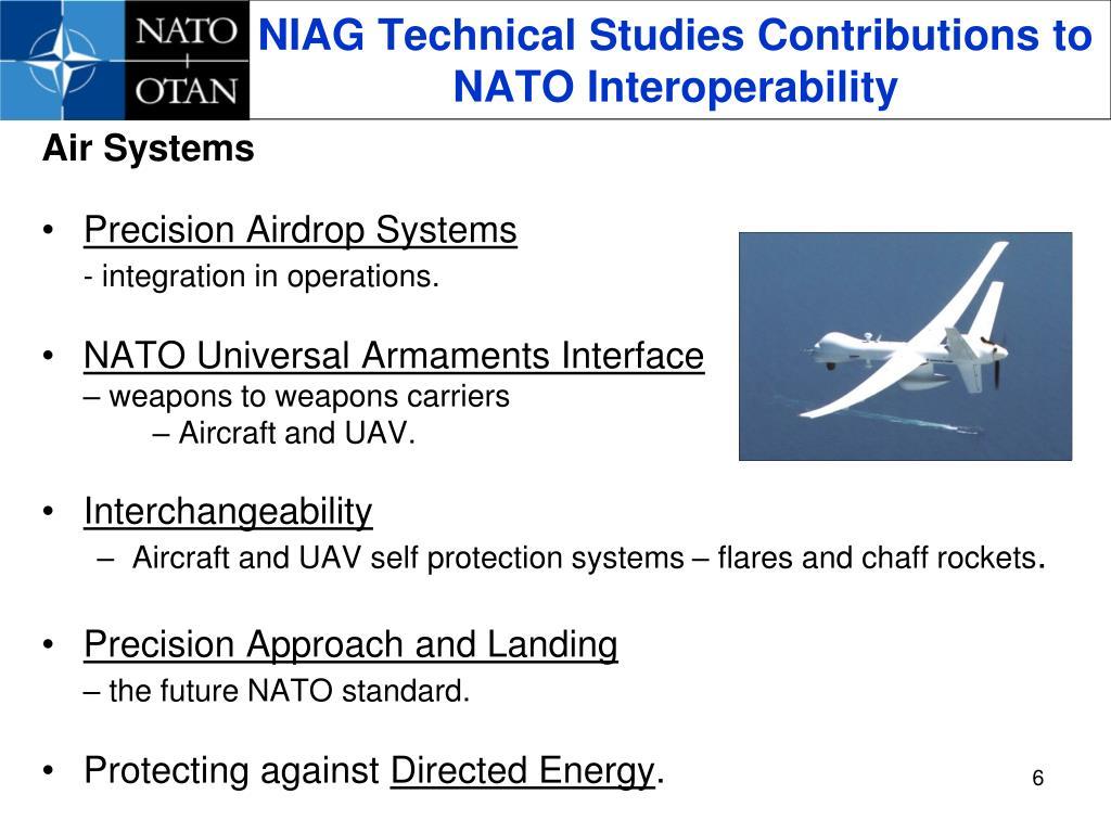 NIAG Technical Studies Contributions to NATO Interoperability