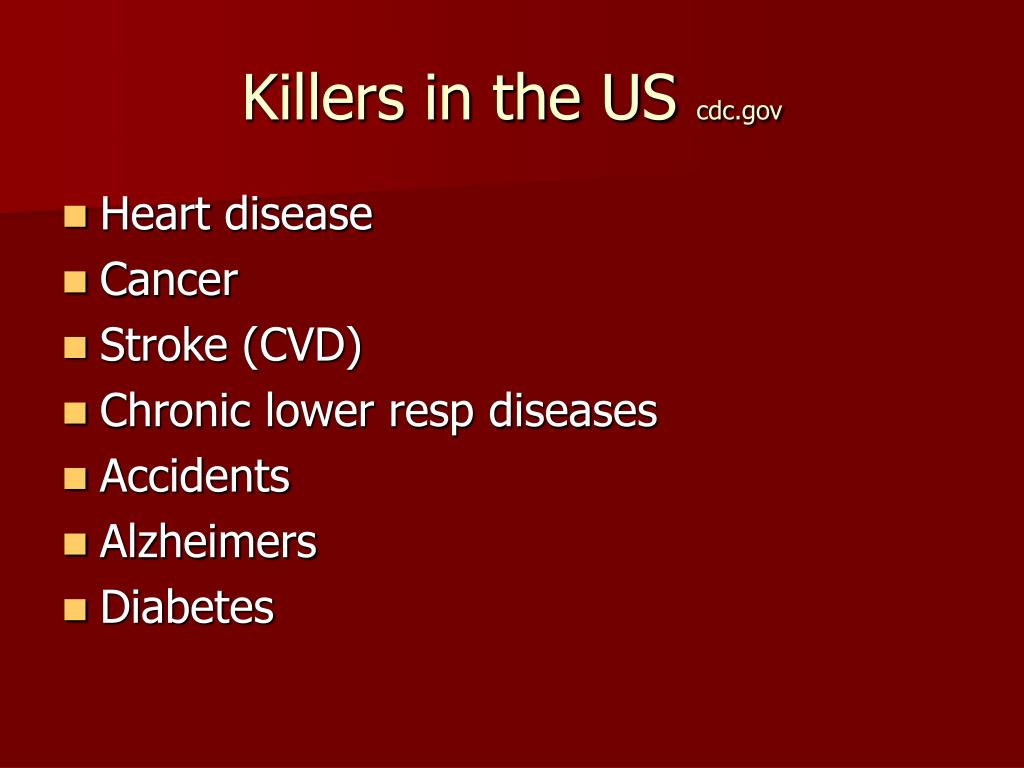Killers in the US