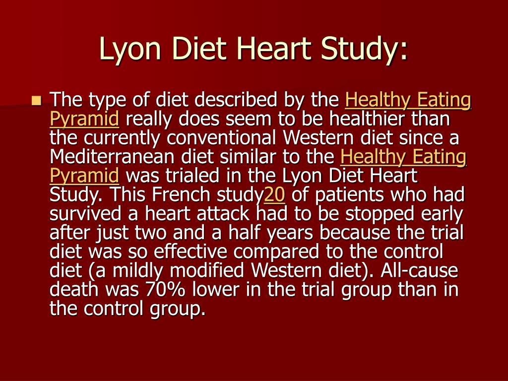 Lyon Diet Heart Study:
