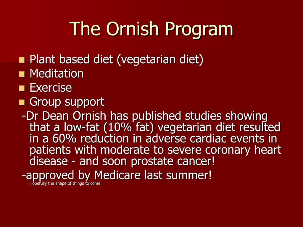 The Ornish Program