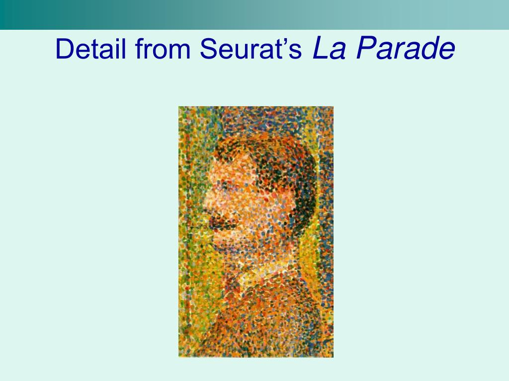 Detail from Seurat's