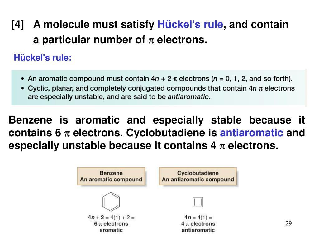 [4] A molecule must satisfy