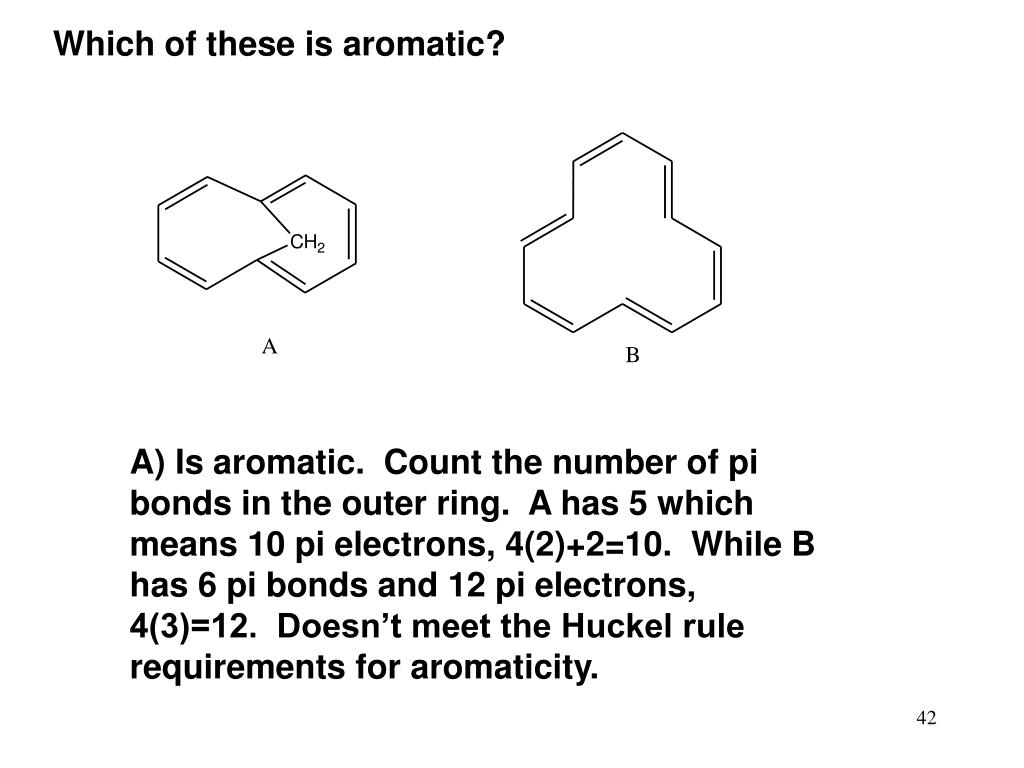 Which of these is aromatic?