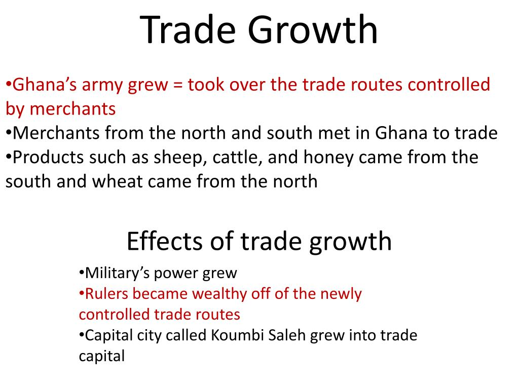 Trade Growth