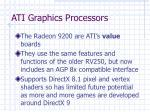 ati graphics processors35