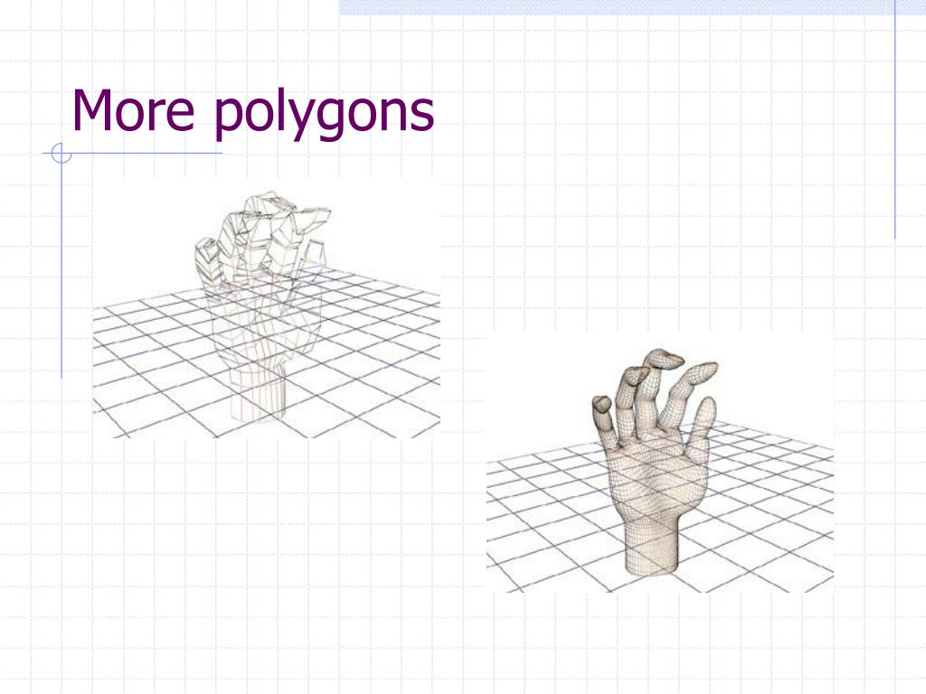 More polygons