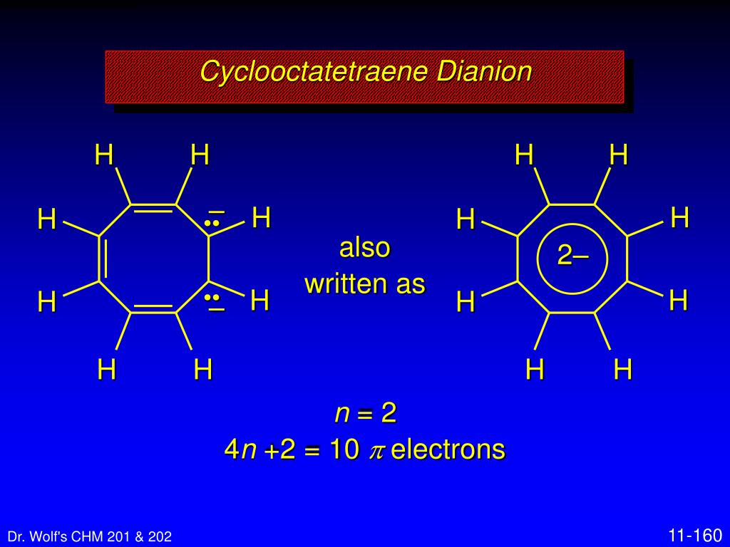 Cyclooctatetraene Dianion