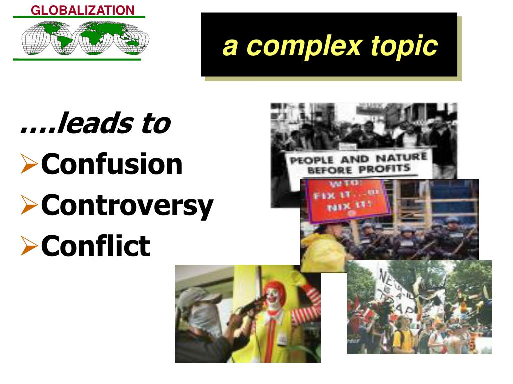 a complex topic