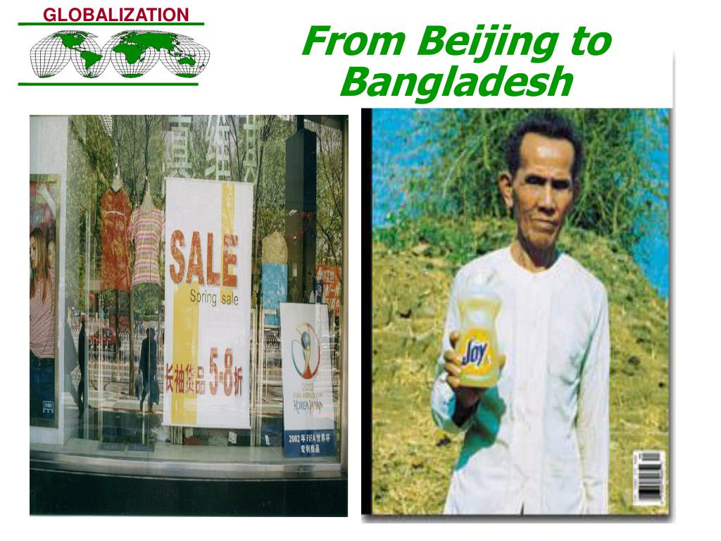 From Beijing to Bangladesh