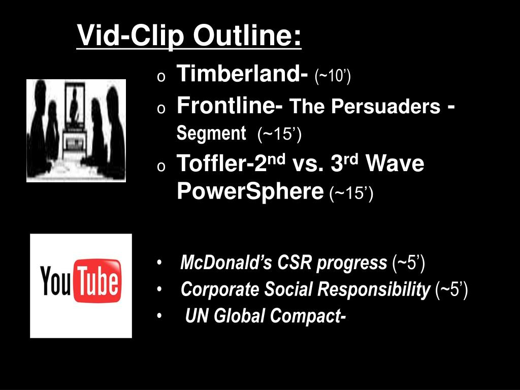 Vid-Clip Outline: